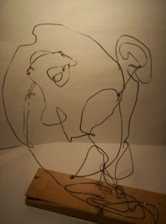 wire bust by ValyGrlVentriloquist
