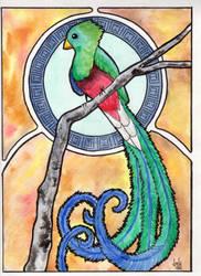 Quetzal Watercolor