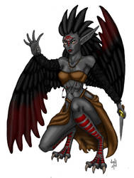 Harpy (Colored)