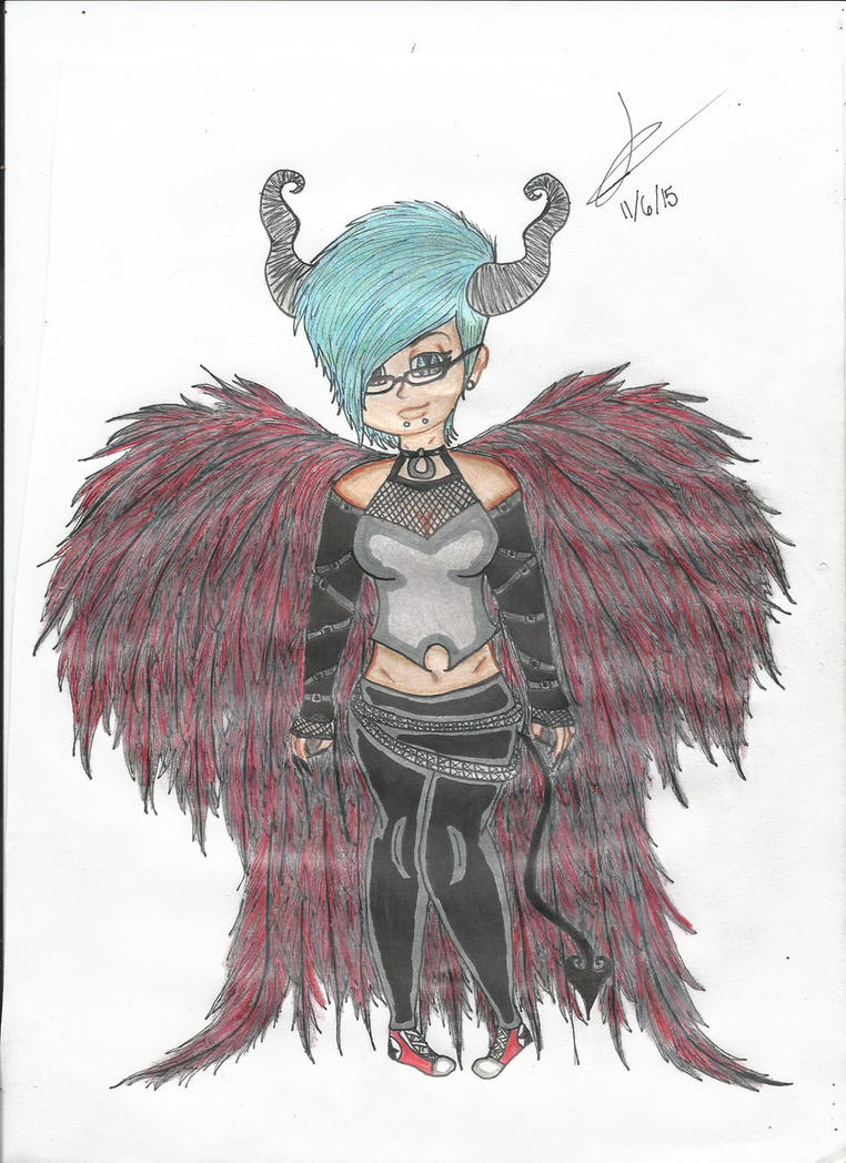 Demon Angel by faiththewizard