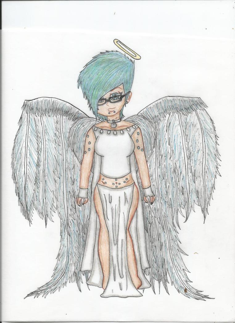 The angel by faiththewizard