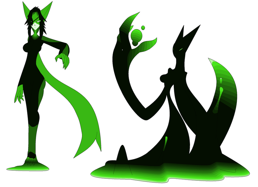 New fox slime character by Kai-Chronaius