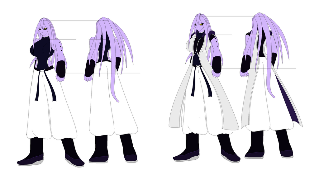 Majin OC finalized design by Kai-Chronaius