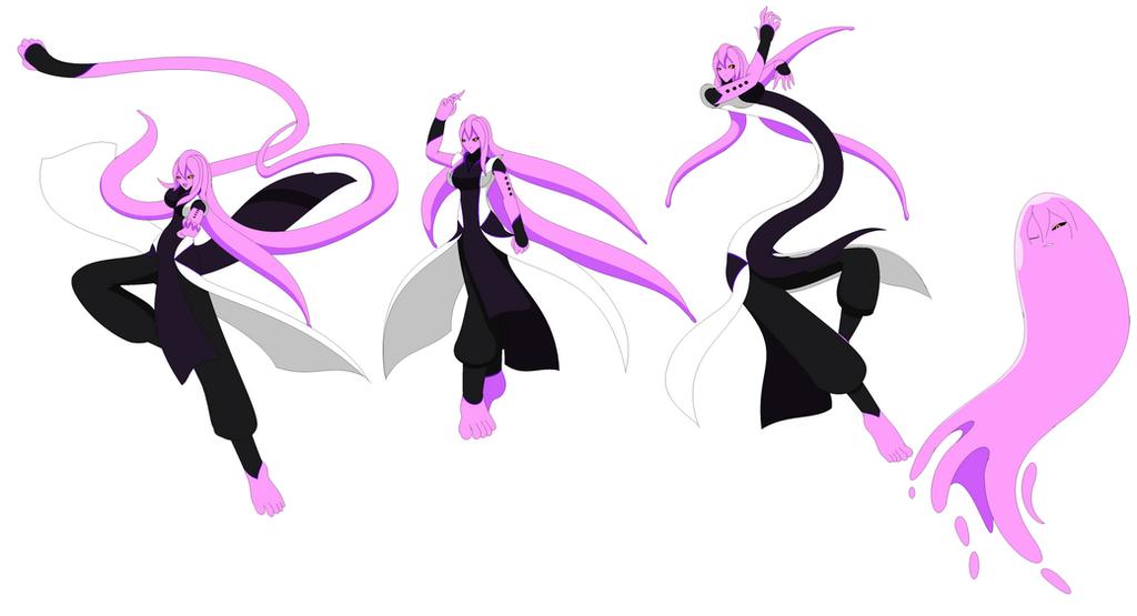 Some more Majin Kia doodles by Kai-Chronaius