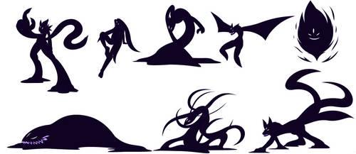 A shadow of many shapes by Kai-Chronaius