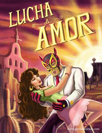 Lucha de Amor by jdjartist