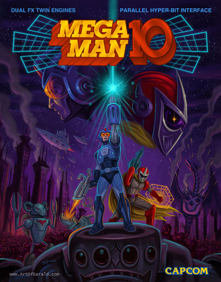 Mega Man 10 by jdjartist