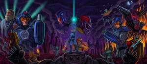 Mega Man 10 Tryptich