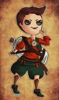 Treasure Hunter by MintyDinosaur