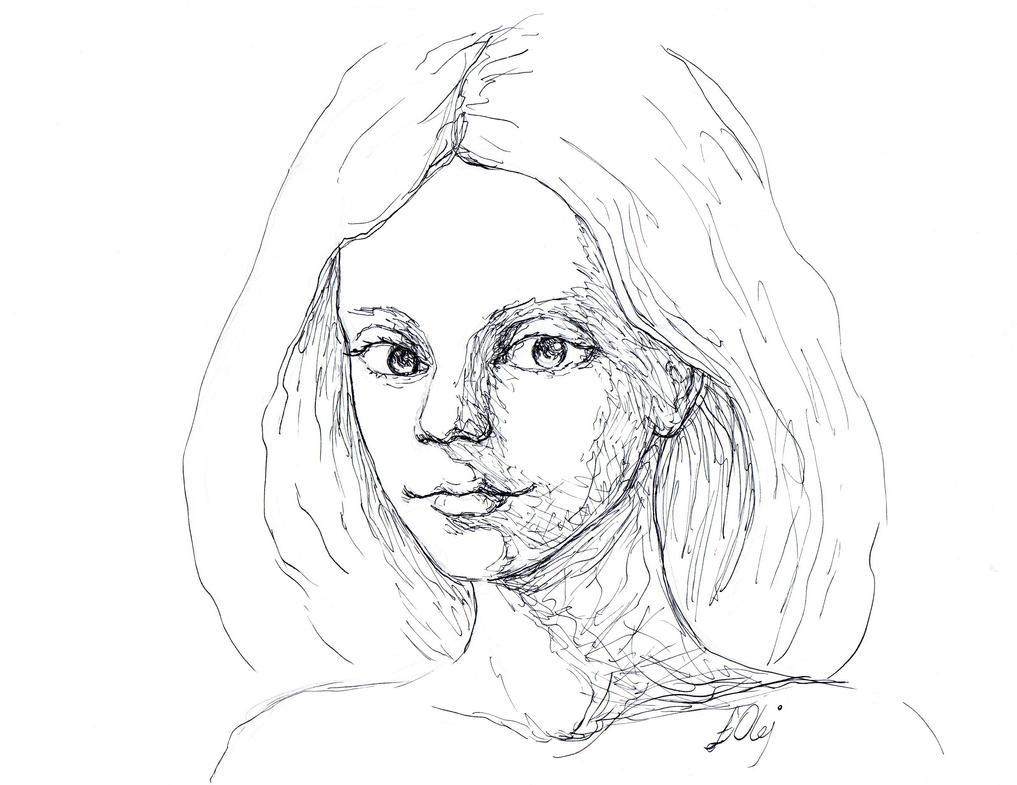 Inktober #01 by Oleyan