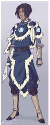Warrior Sokka by Mandy-Mo