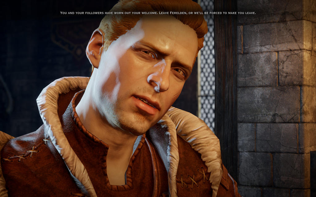 This is not MY Alistair.