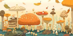 Mushroom Forest I