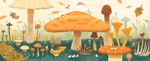 Mushroom Forest ||