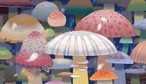Poisonous mushrooms!