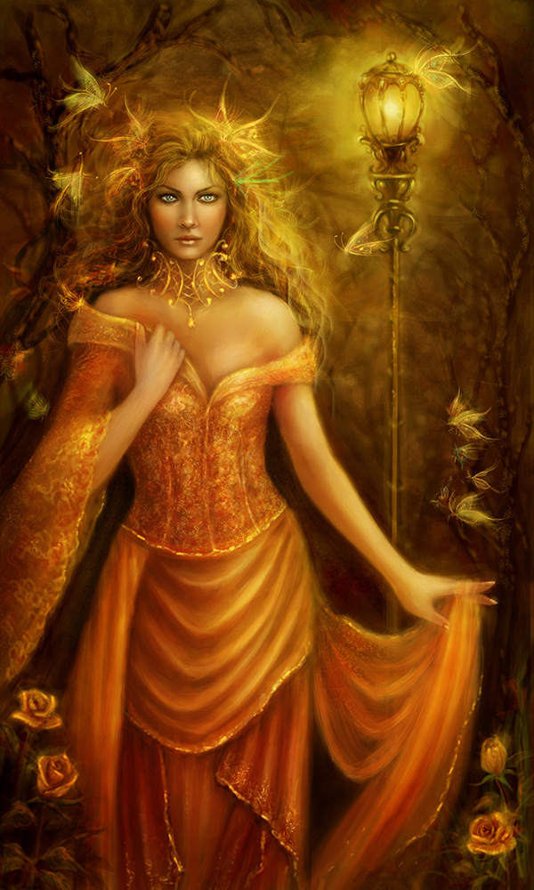 The Autumn Witch by BrookeGillette