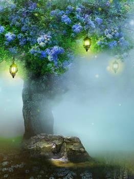 Glimpse of Eden: Petals of Blues