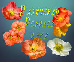 Painterly Poppies