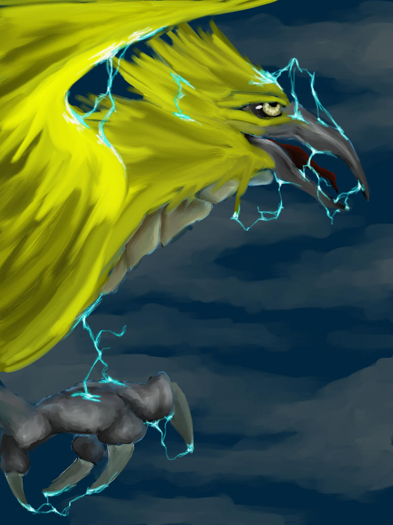 Zapdos by dragonrage-