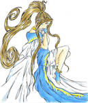 Belldandy In her Thoughts