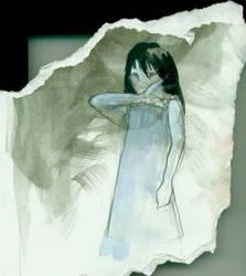 girl by BrokenUmbrella