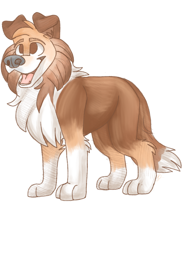 Collie by PixelWolves