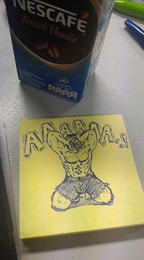doodle hulk by Feiraze