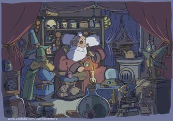 Wizard Shop by Carlos-MP