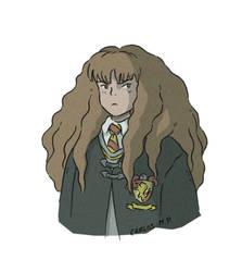 Hermione Granger Harry Potter fan art by Carlos-MP
