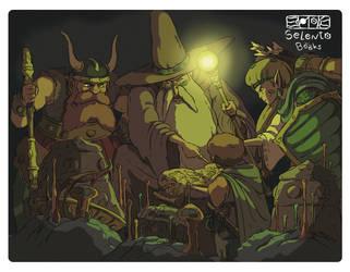 Fantasy art by Carlos-MP