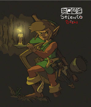 Link from Zelda II fanart