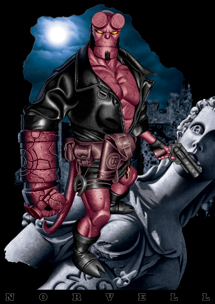 HELLBOY Colored by DaleNorvell