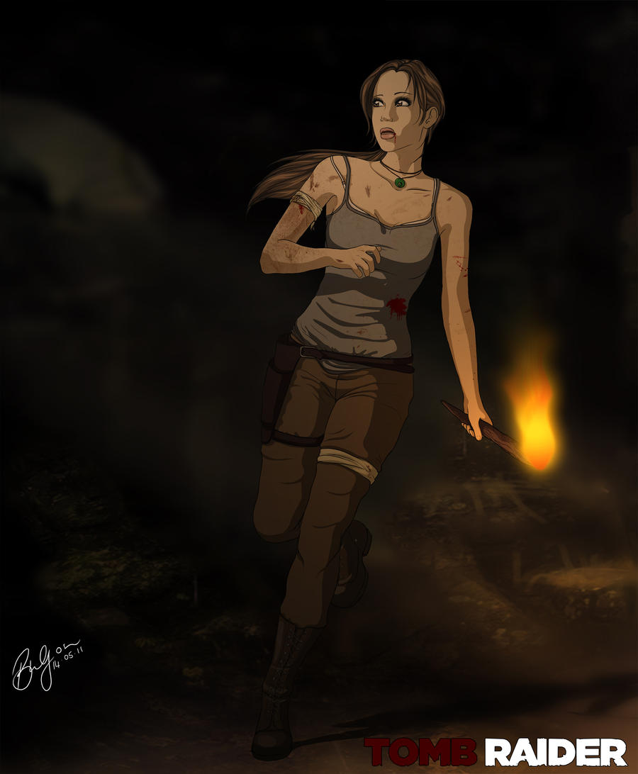 Tomb Raider 9 by brendanvb
