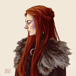 Sansa portrait by Virnavus