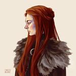 Sansa portrait