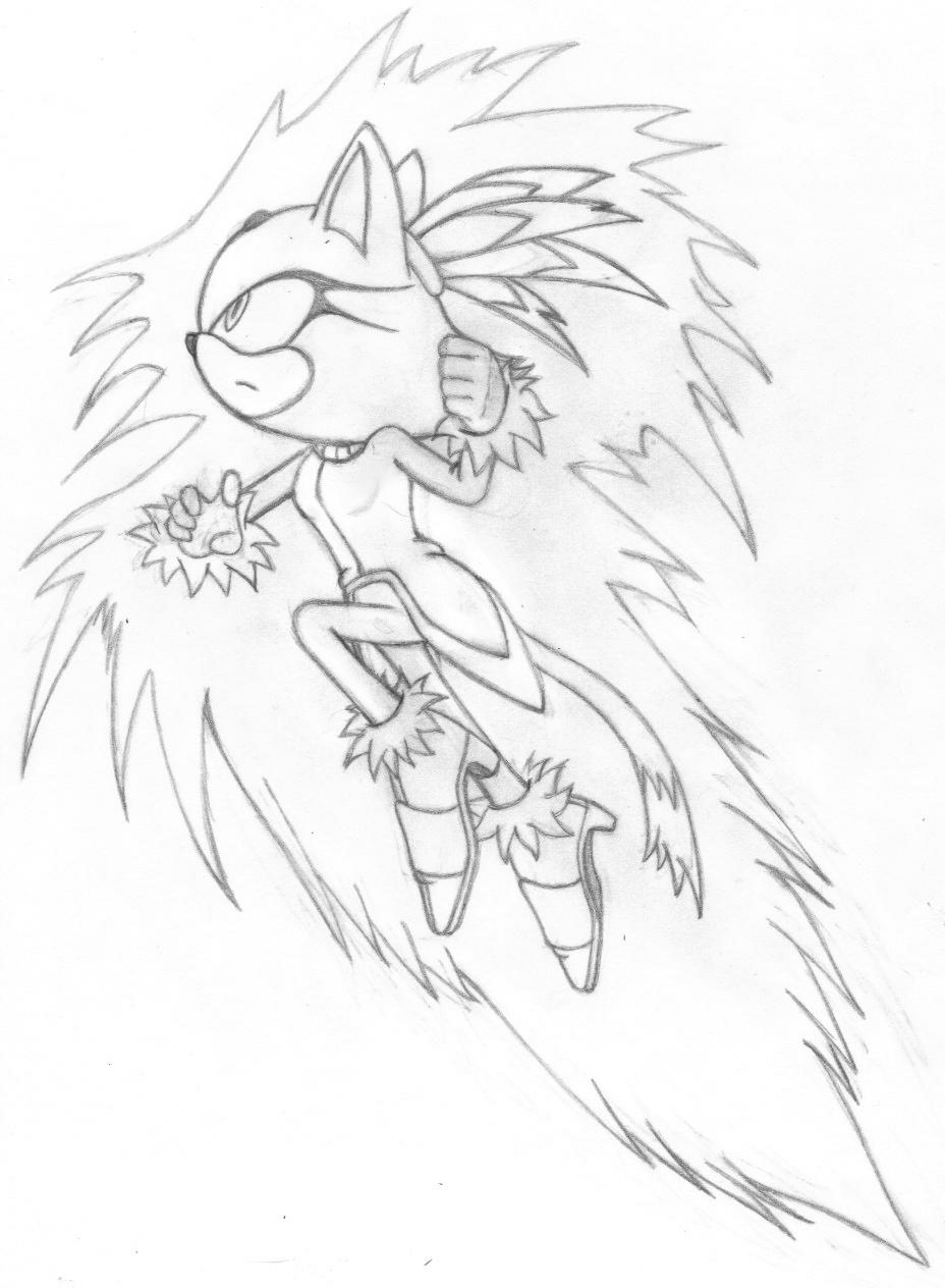 Blaze the cat burning blaze by dark93c on deviantart for Blaze the cat coloring pages