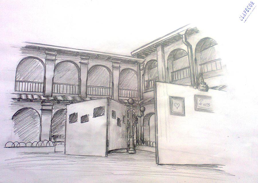 Dibujo de ingreso by dark93c on deviantart for Donde puedo estudiar arquitectura