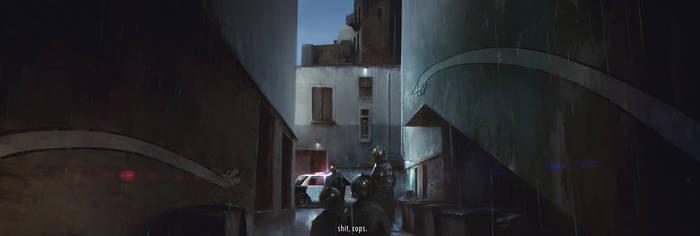 Tomcat vs Cops by JablonskiPiotr