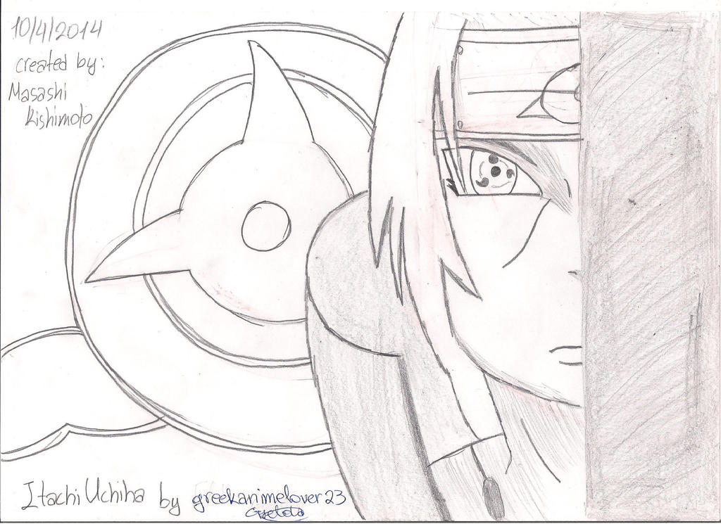 Itachi Uchiha by greekanimelover23