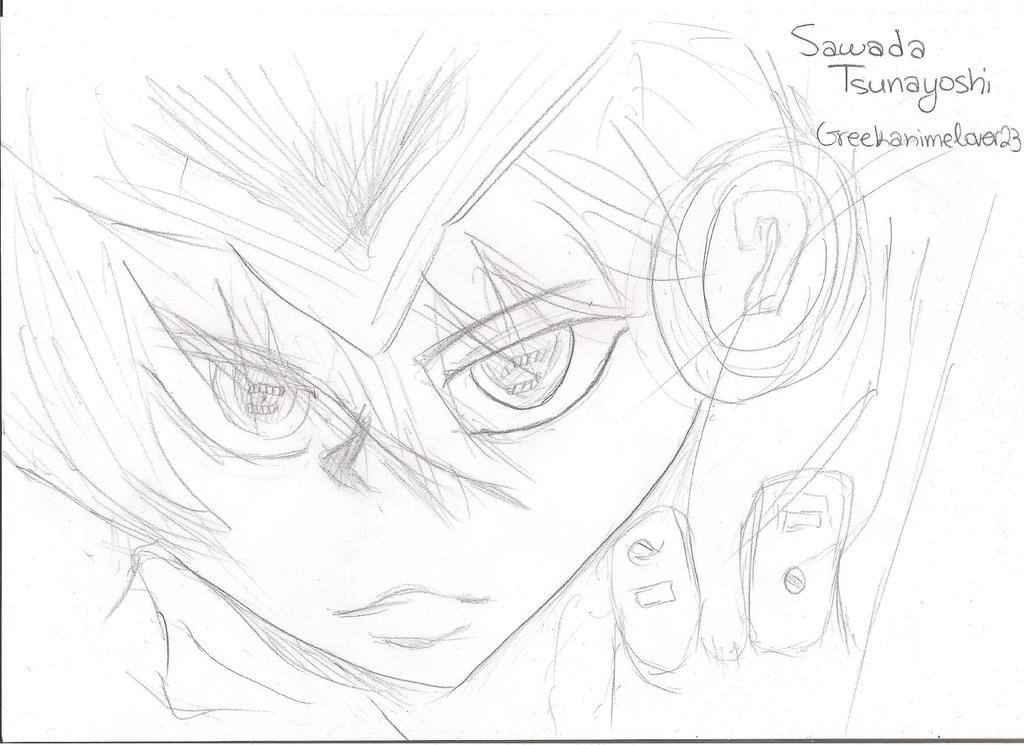 Tsunayoshi Sawada by greekanimelover23