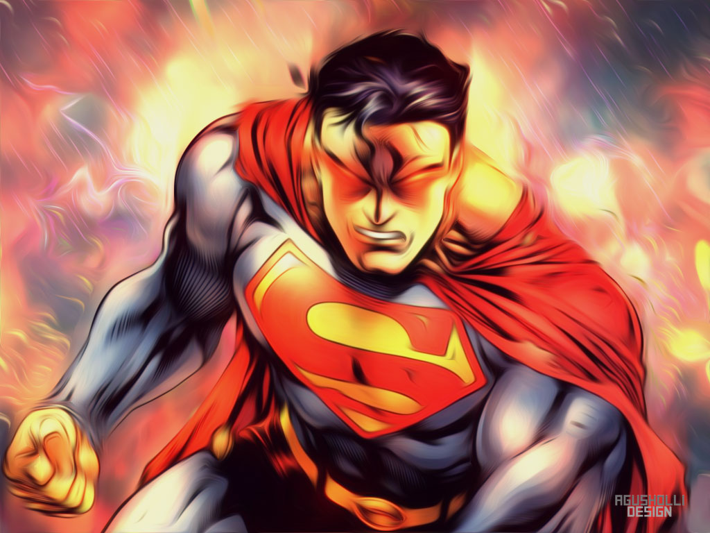 superman comic art wallpaper - photo #24