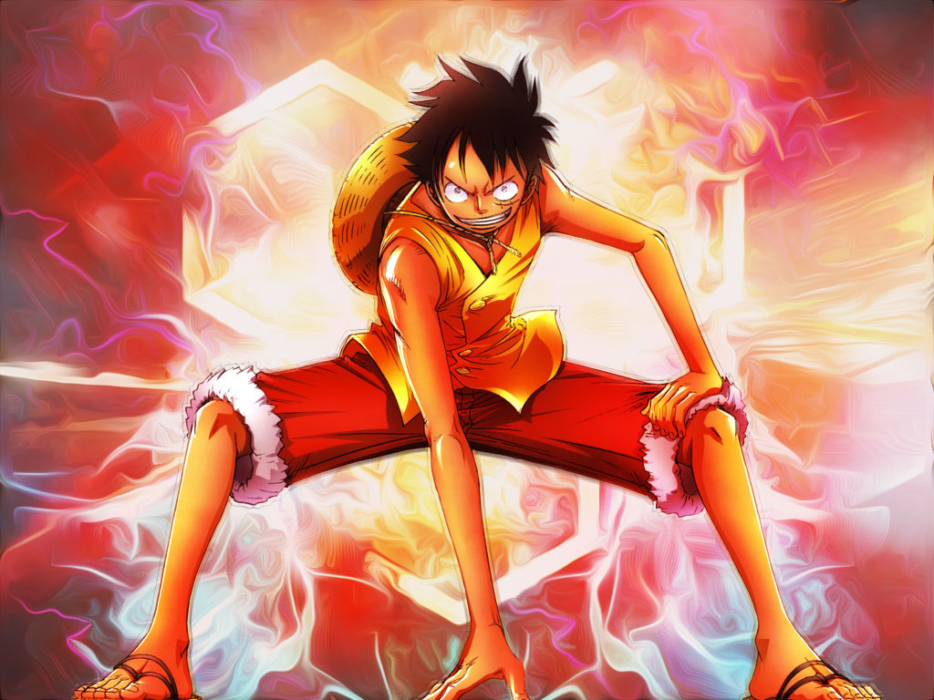 monkey d.luffy wallpaperagushollid on deviantart