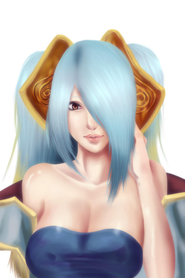 Sona : League of Legends by Friday70