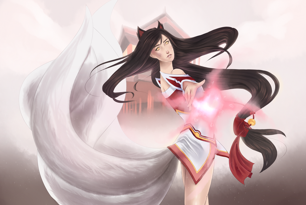 League of Legends Ahri by Friday70