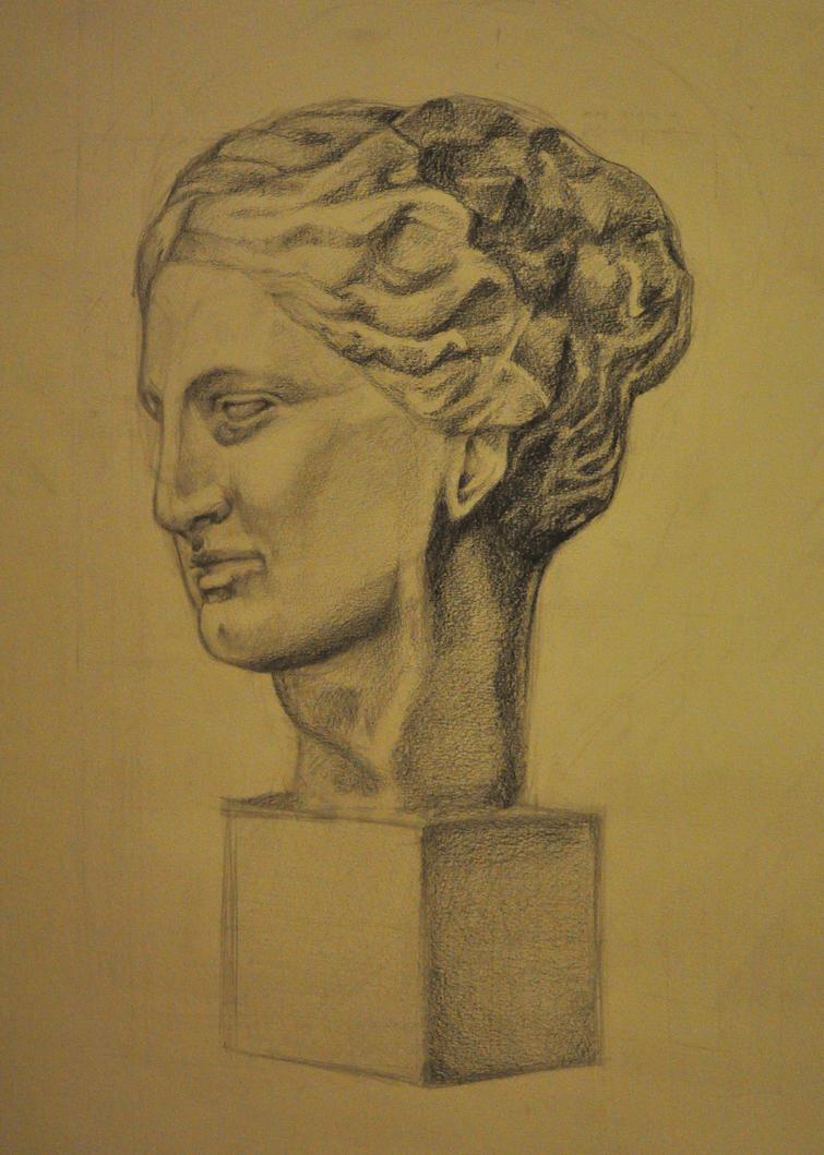 Hygieia cast model drawing by Friday70