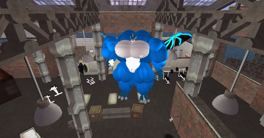 Hyper Huge Extreme Bodybuilder Exveemon photo1 by SUPREMOXQ15