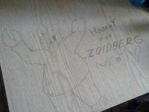Deskwork no.3 - Zoidberg