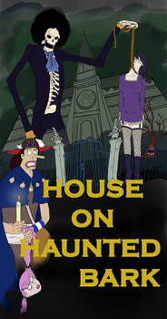 House on the Haunted Bark - One Piece Horror