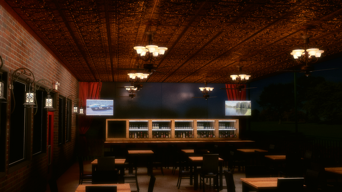 Restaurant - outside view by peterpro