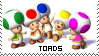 Toad Stamp by Yowaii